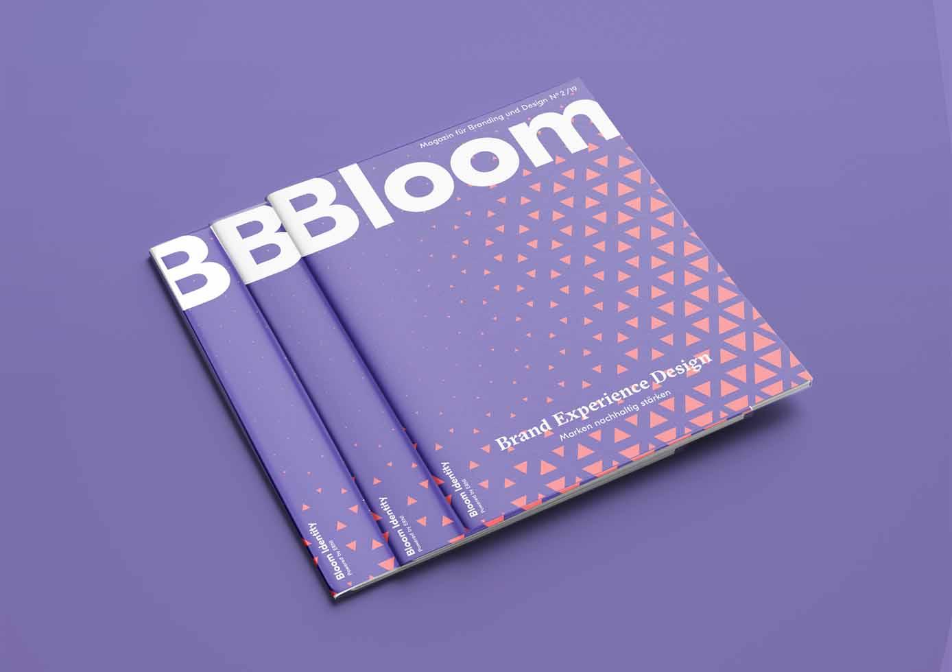 Magazin gestapelt mit schlichtem Cover