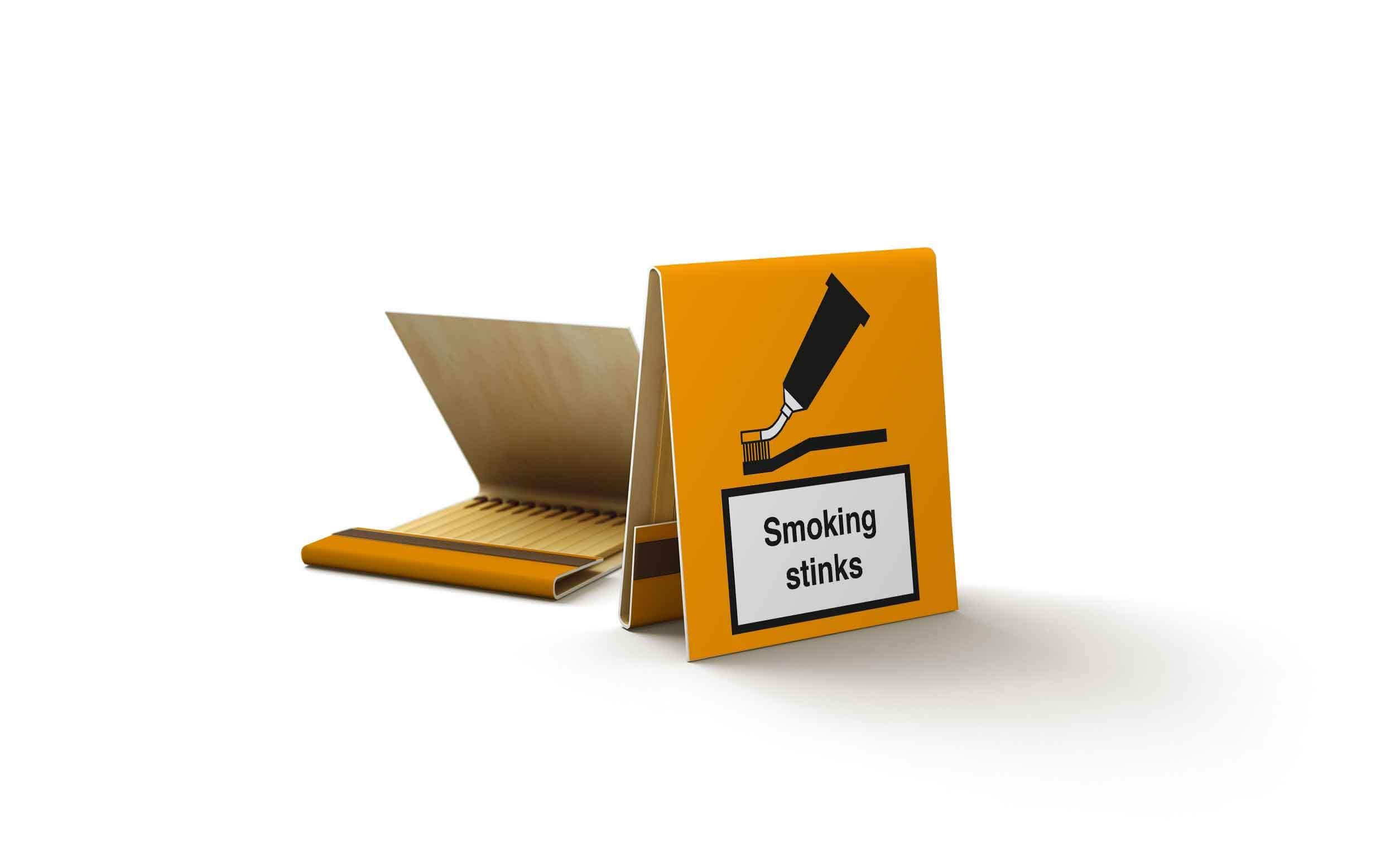 bedruckte Zundholzschachteln für raucher